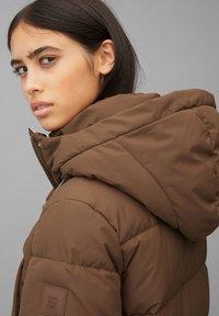 Marc O'Polo DENIM - ARCTIC EXPEDITION PUFFER COAT LONG - Winter coat - fantastic brown - 4