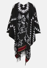 Desigual - PONCHO FREEDOM REVERSIBLE - Cape - black - 1