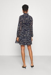 Vero Moda - VMVILDE SHORT DRESS - Day dress - navy blazer - 2