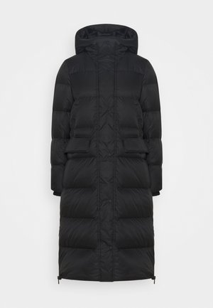 BIG PUFFER COAT FILLED - Down coat - black