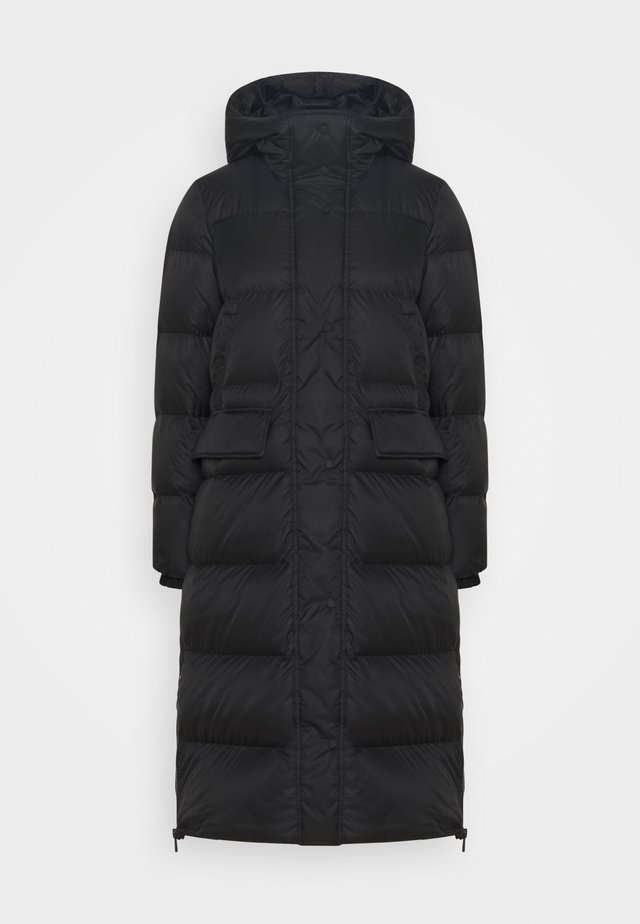 BIG PUFFER COAT FILLED - Untuvatakki - black