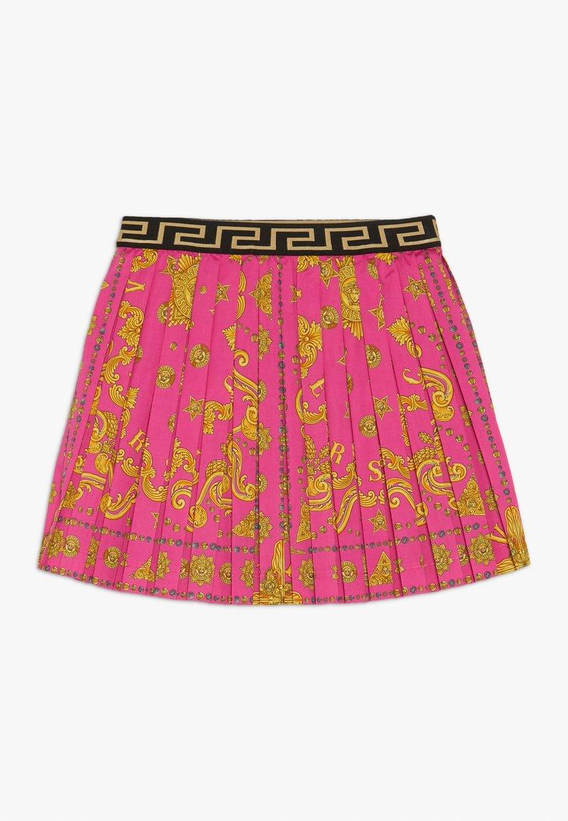 Versace - GONNA - Áčková sukně - fuxia
