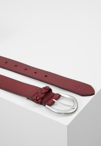 Marc O'Polo - BELT LADIES - Belt - berry red - 2