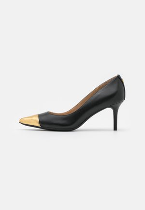 LANETTE - Decolleté - black/modern gold
