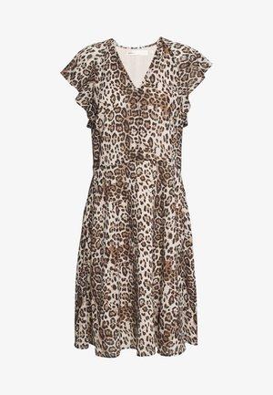 FLORIZZAI SHORT DRESS - Day dress - natural