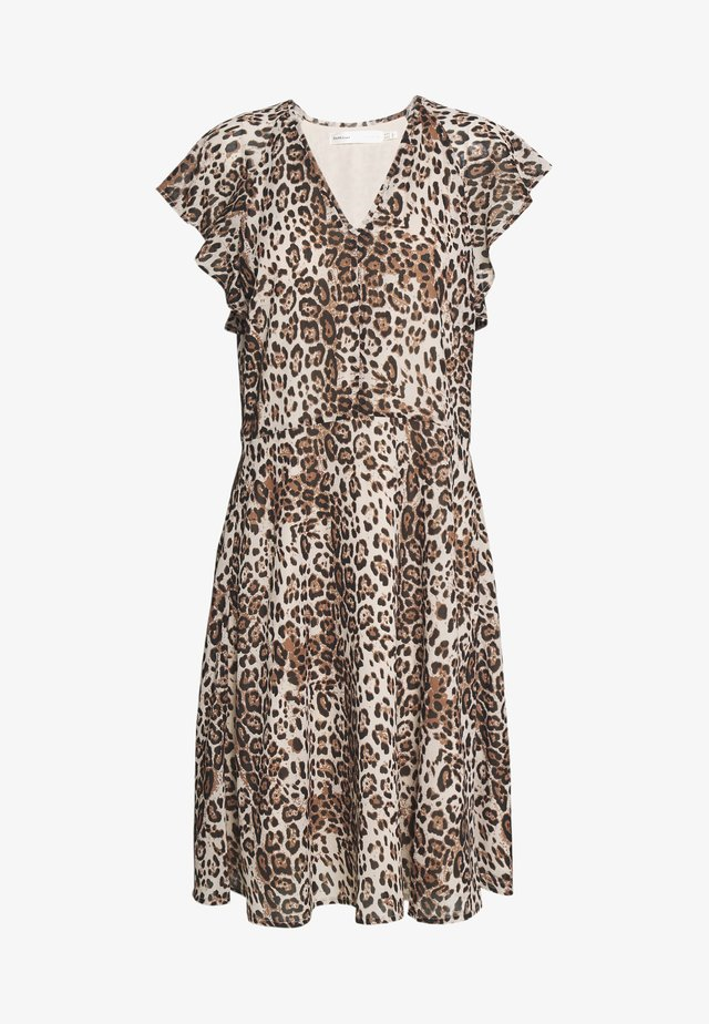 FLORIZZAI SHORT DRESS - Vapaa-ajan mekko - natural