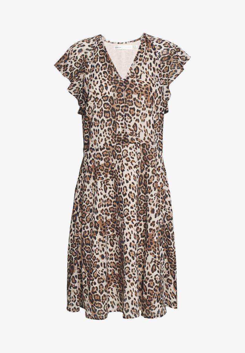 InWear - FLORIZZAI SHORT DRESS - Day dress - natural