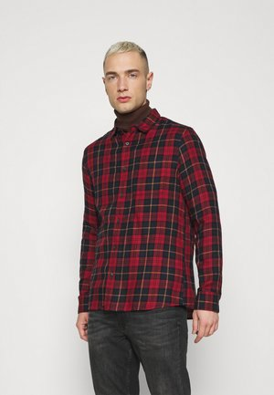 LONG SLEEVE CHECK - Skjorta - navy