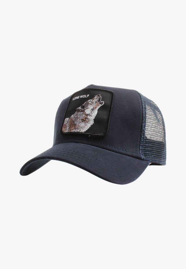 WOLF - Cap - navy