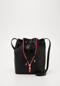 HUGO - ISABEL DRAWSTRING - Across body bag - black - 0