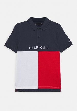 COLORBLOCK - Polo shirt - blue