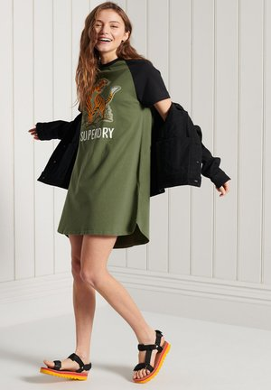 BOHO  - Jersey dress - four leaf clover