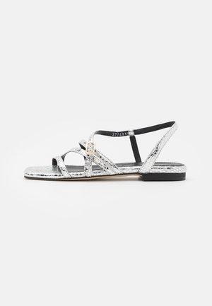 Sandaler - argento