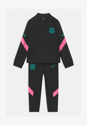 FC BARCELONA SET UNISEX - Club wear - black/pink beam/new green