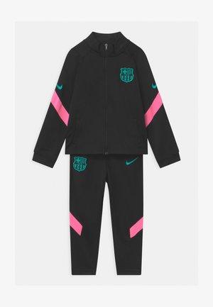 FC BARCELONA SET UNISEX - Klubové oblečení - black/pink beam/new green