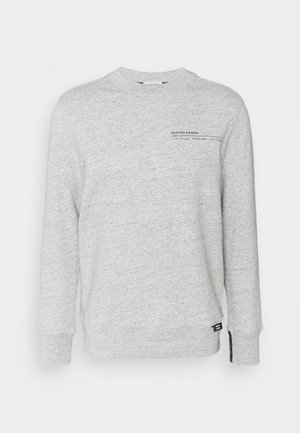 CLUB NOMADE SIGNATURE BASIC CREW NECK - Sweatshirt - grey melange