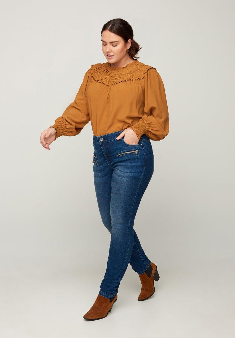 Zizzi - SANNA - Jeans Skinny Fit - blue