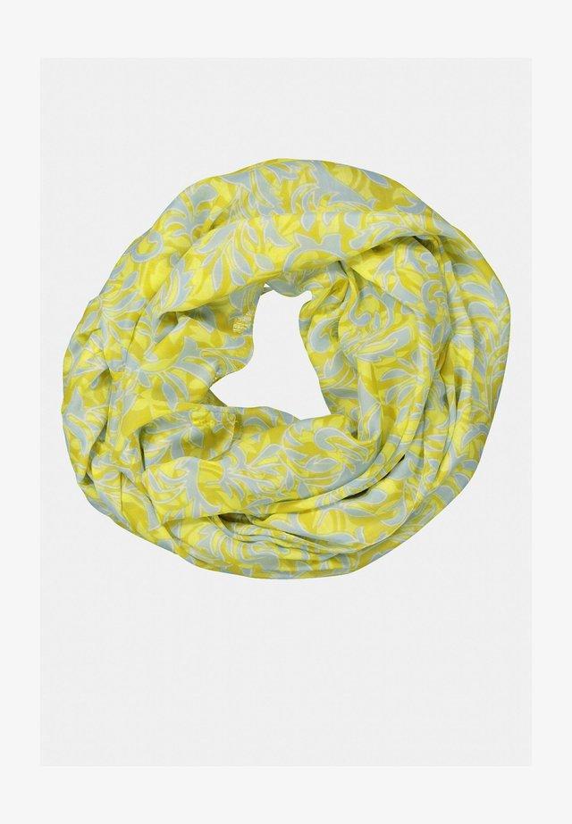 Sjaal - senfgrün