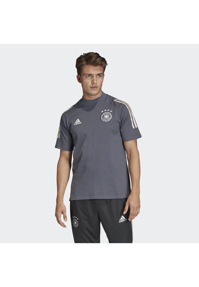 adidas Performance - DEUTSCHLAND DFB TEE - Print T-shirt - onix