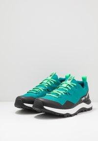 The North Face - M ACTIVIST FUTURELIGHT - Hiking shoes - verdial/black - 2