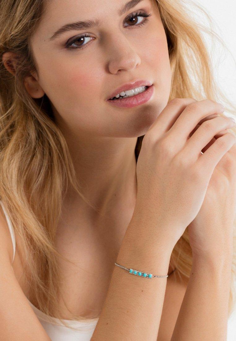 THOMAS SABO - ETHNO - Bracelet - silver-coloured/turquoise