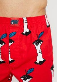 Lousy Livin Underwear - APPLE - Trenýrky - red - 4