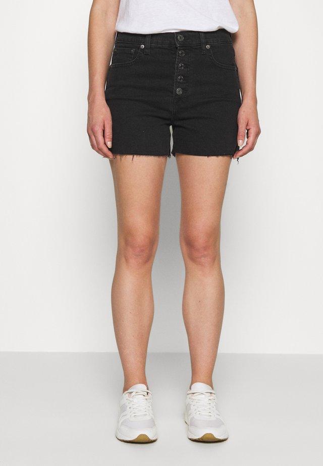 NEMO - Denim shorts - washed black