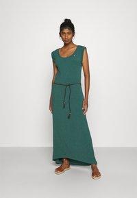 Ragwear - TAG LONG - Maxikjole - dark green - 0