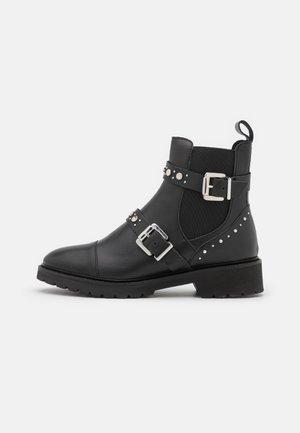 VALERIAN - Cowboy/biker ankle boot - noir