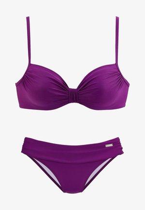 SAPHIR SET - Bikini - fuchsia