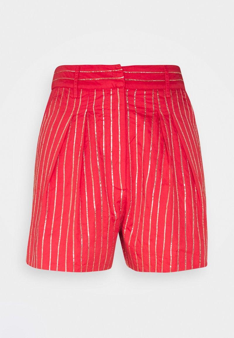 MANÉ - ELLA - Shorts - coral/gold