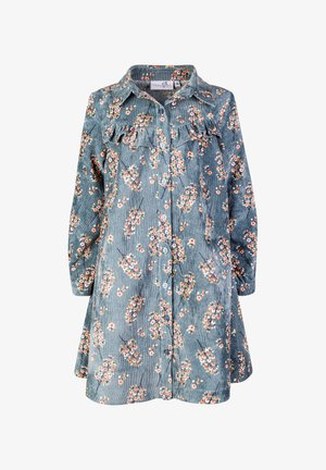 Shirt dress - petrol