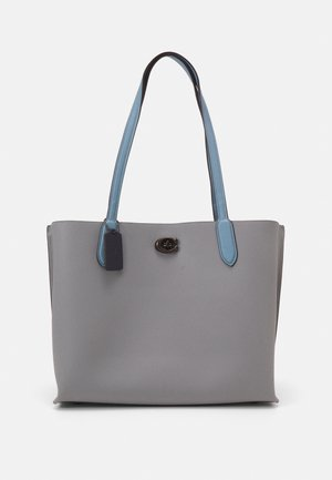 COLORBLOCK WITH COATED SIGNATURE INTERIOR WILLOW - Handbag - granite multi