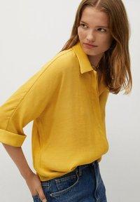 Mango - SAM-H - Button-down blouse - mostaza - 0