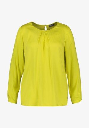 Blouse - blazing yellow