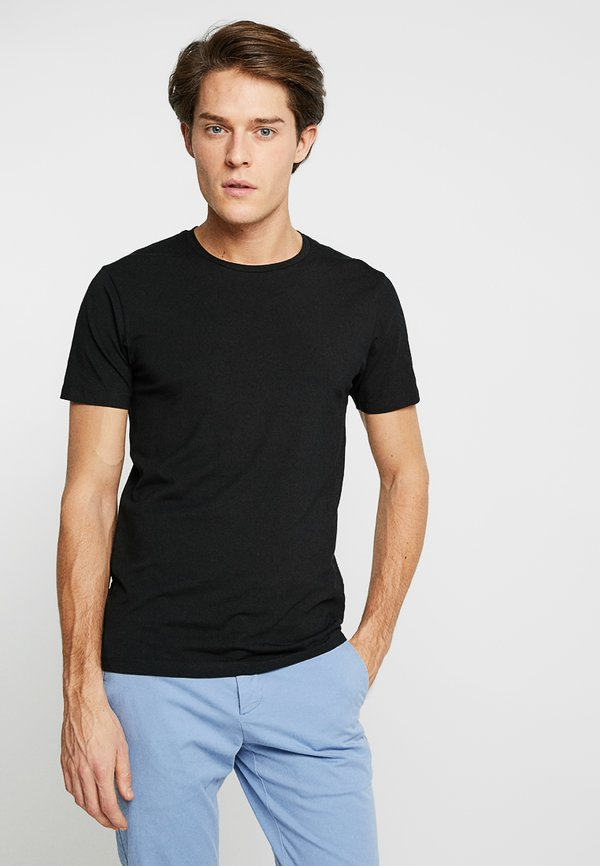CELIO NEUNIR - T-shirt basic - noir/czarny Odzież Męska PUFI