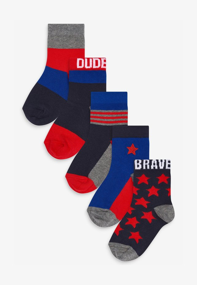 5 PACK  - Socks - multi-coloured