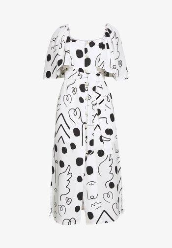 ALICE - Day dress - black/white