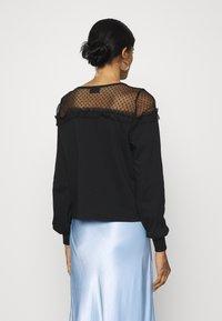 ONLY - ONLCHERRY ONECK - Sweatshirt - black - 2