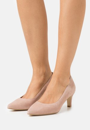 LEATHER COMFORT - Tacones - nude