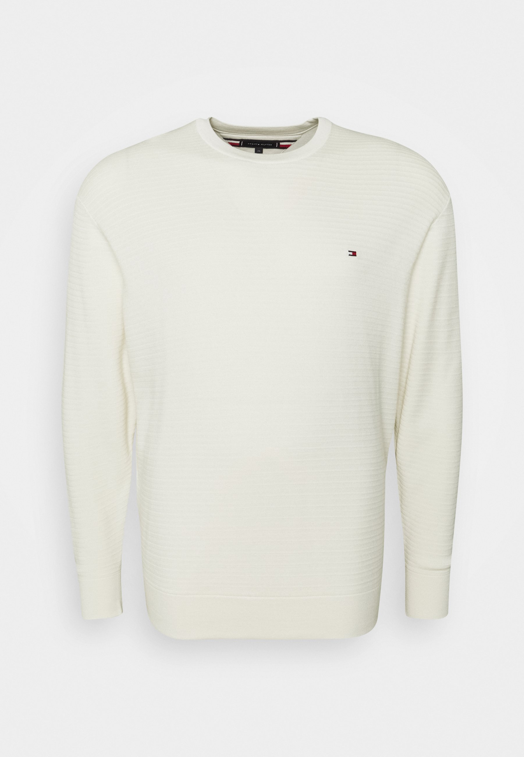 Homme FINE ZIG ZAG CREW NECK - Pullover
