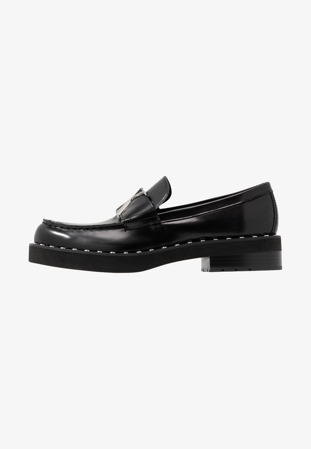 NORWOOD - Mocassins - black