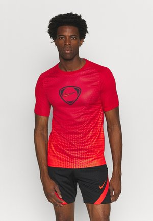 ACADEMY - Triko spotiskem - gym red/chile red/chile red