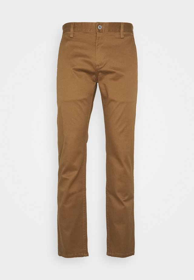 ALPHA ORIGINAL  - Pantalones chinos - light brown