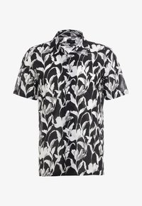 Club Monaco - CLIMBING FLOWER SLIM FIT - Shirt - black - 4