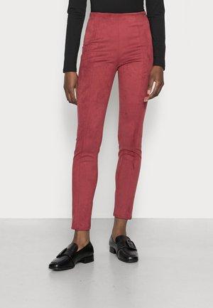 MAYA  - Leggings - Trousers - bordeaux