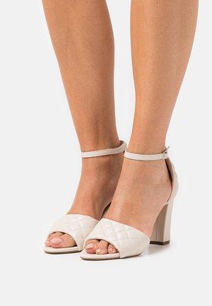 BLENND - High heeled sandals - almond paris