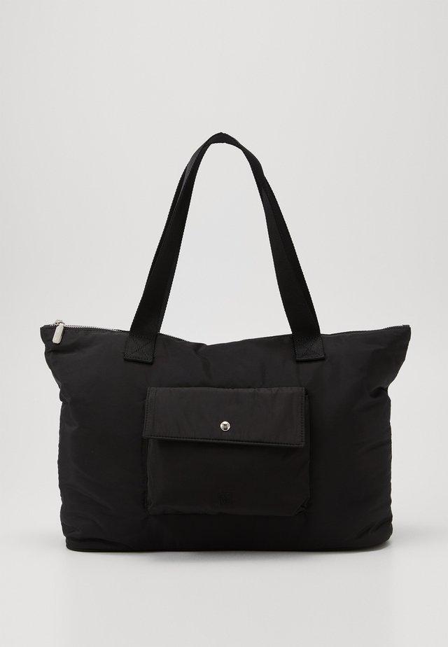 TRAVEL COMMUTER BAG - Shopper - black