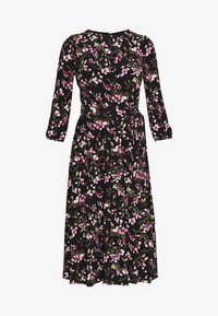 Lauren Ralph Lauren Petite - FELIA SLEEVE DAY DRESS - Sukienka z dżerseju - black/multi - 6