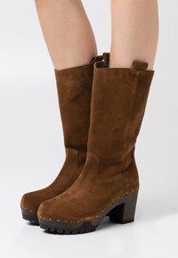 Softclox - Platform boots - brown - 0